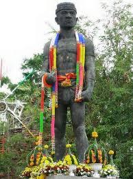 Statue of Nai Khanom Dhom