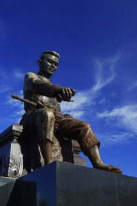 Statue of Naresuan The Great King Of Aytthaya, Siam